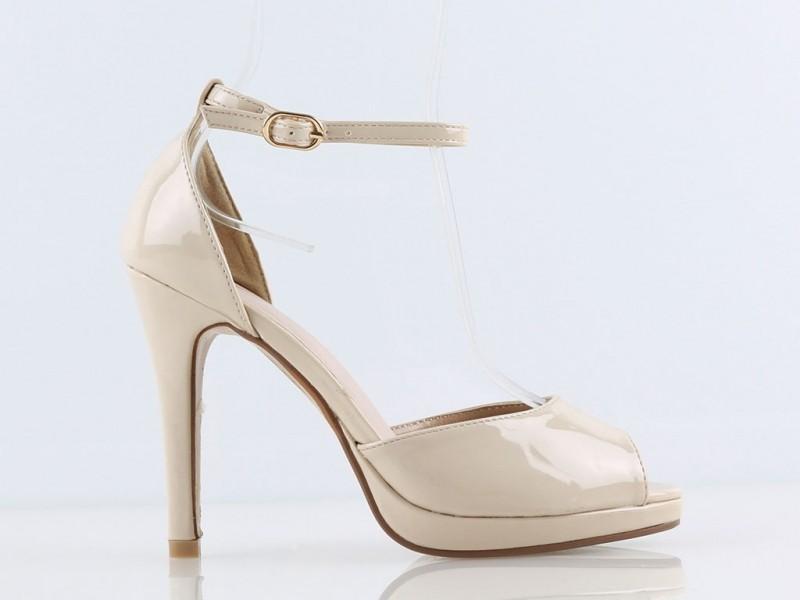 Sandálky ANITA lakované