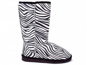 Zimné papučovky zebra