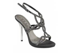 Čierne sandálky 1144