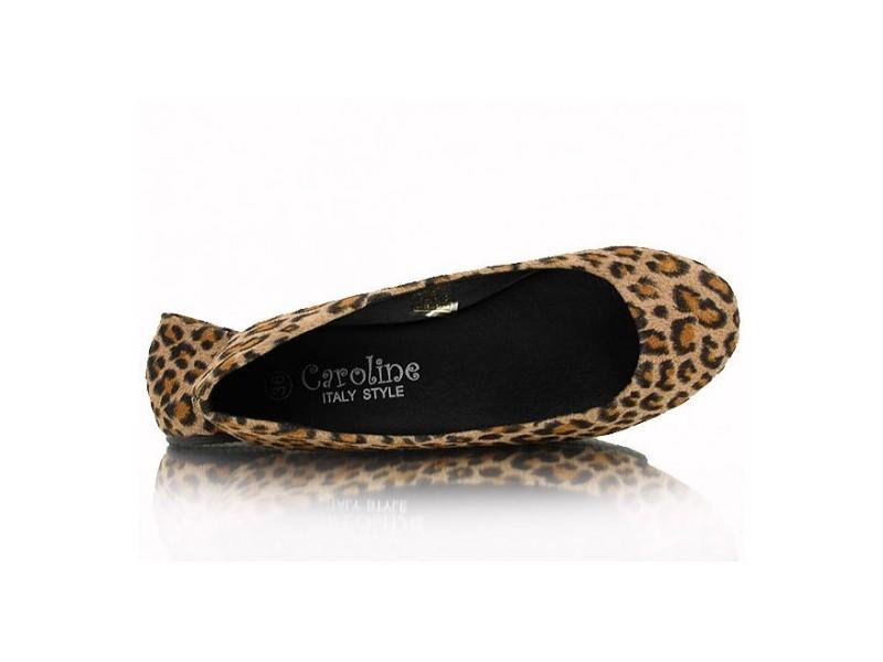 Leopard balerínky