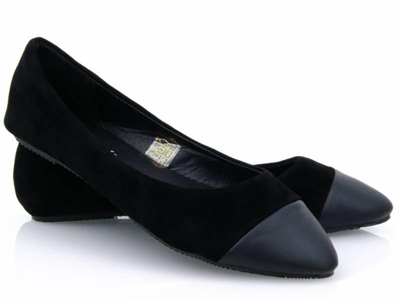 Čierne balerínky