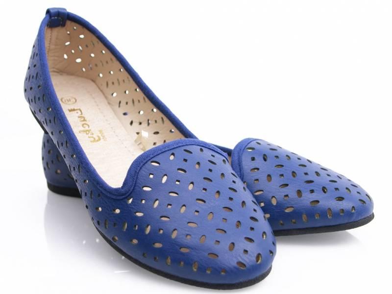 Modré balerínky