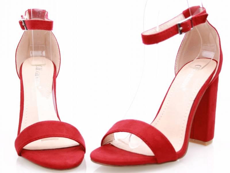 Sandálky SEŇORITA červené