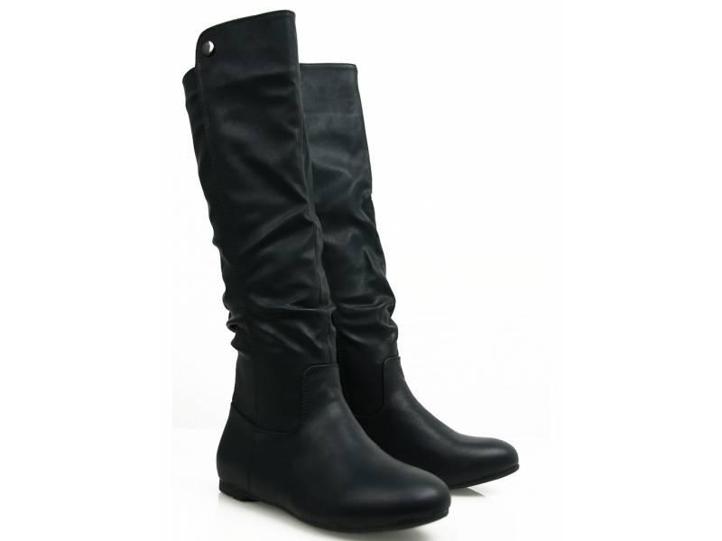Čierne štýlové čižmy