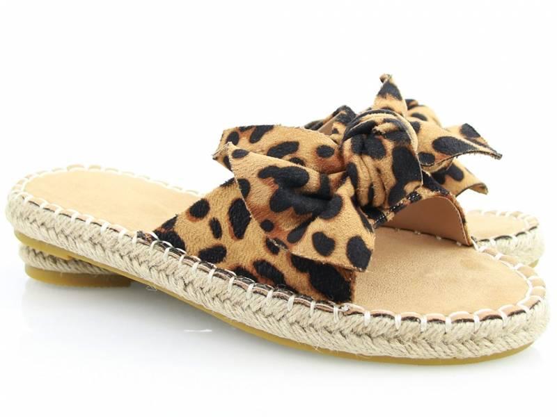Leopardie šľapky