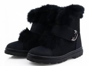 Čierne zimné tenisky