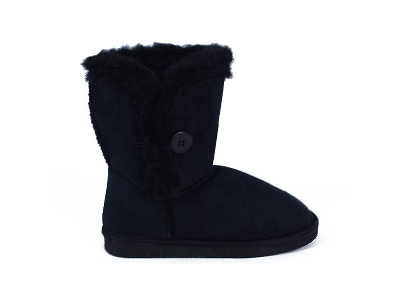 Zimné papučovky BLACK