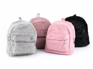 Dievčenský ruksak huňatý