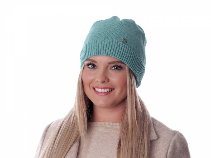 Pletená čiapka klasik