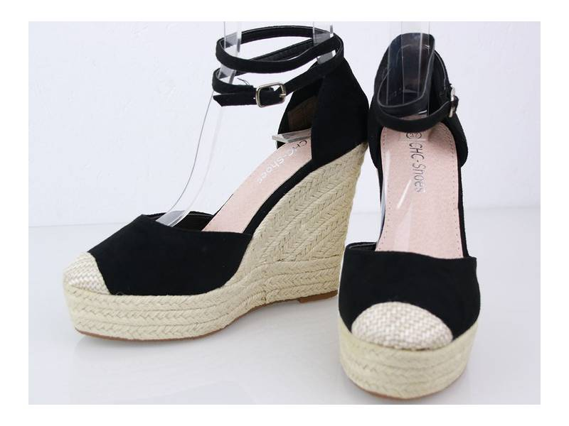 Letné sandálky čierne
