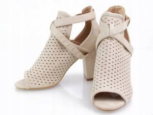 Béžové prechodné topánky