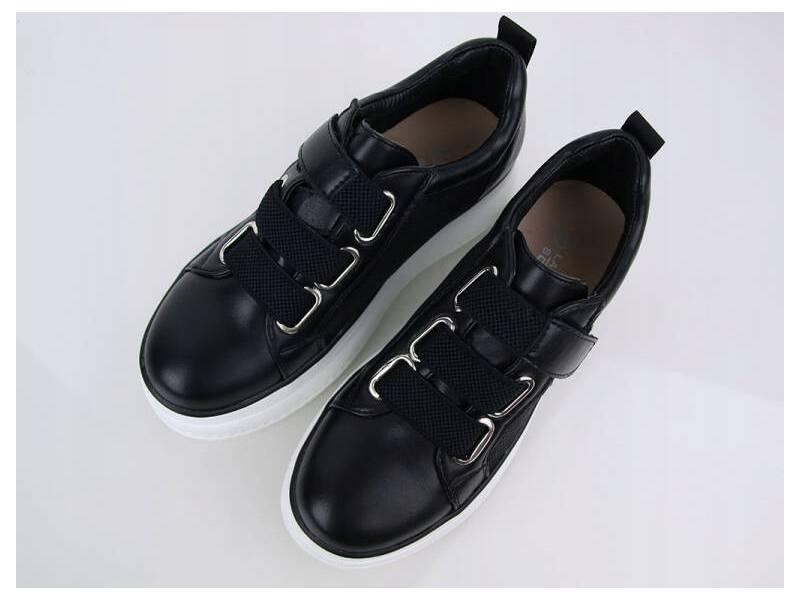 Čierne tenisky Creepers