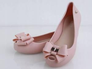 Gumené balerínky ružové