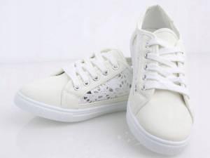 Biele krajkové tenisky