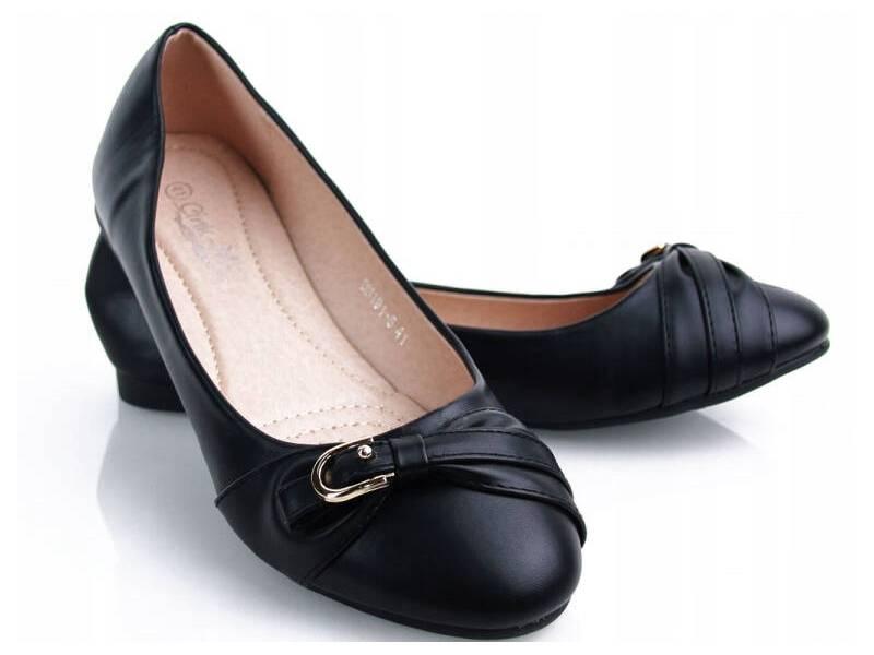 Čierne balerínky 41-44