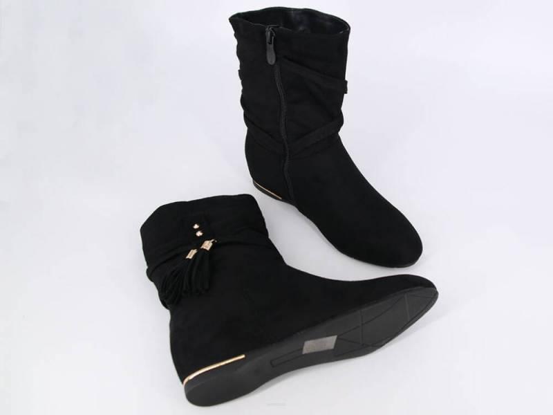 Dámske čierne čižmičky