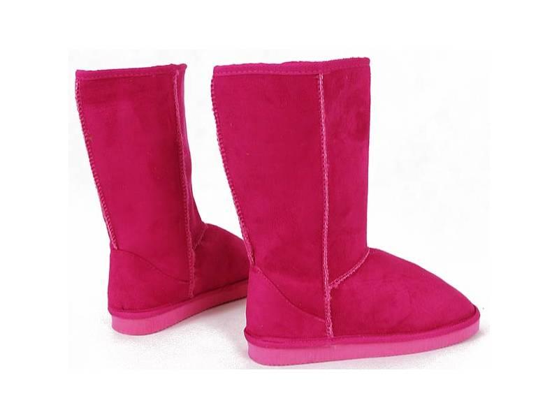Zimné papučovky ružové