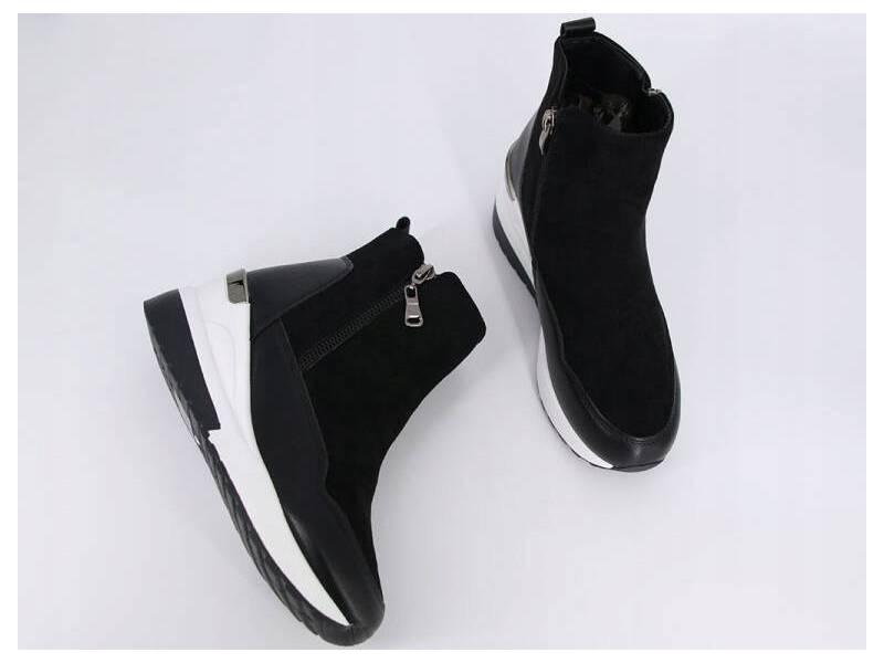 Čierne elegantné tenisky