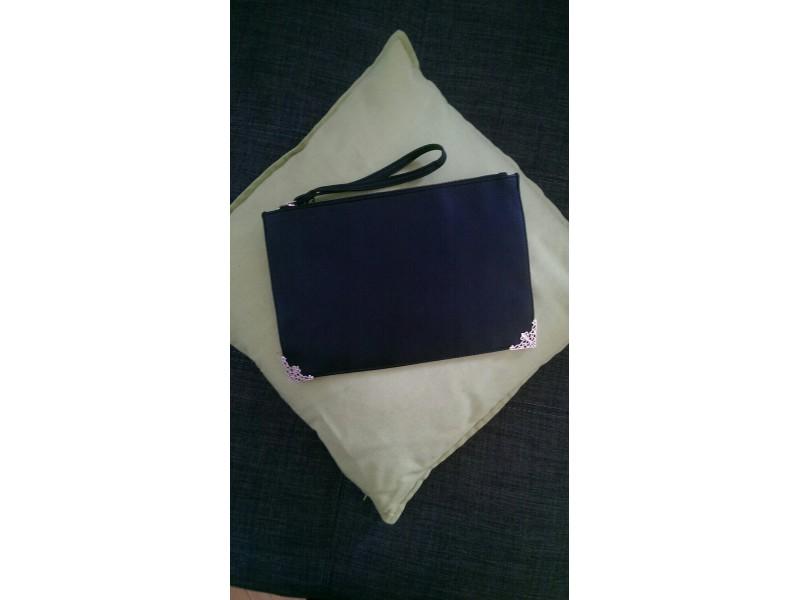 Listová kabelka čierna