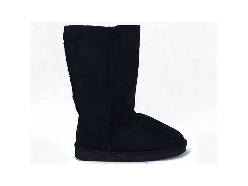 Zimné papučovky čierne
