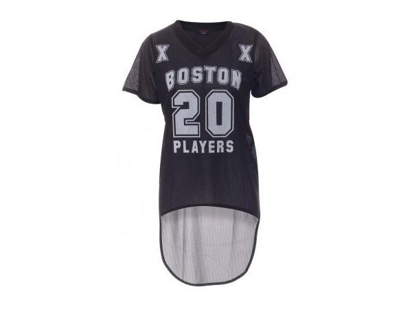 Baseballový top BOSTON čierny