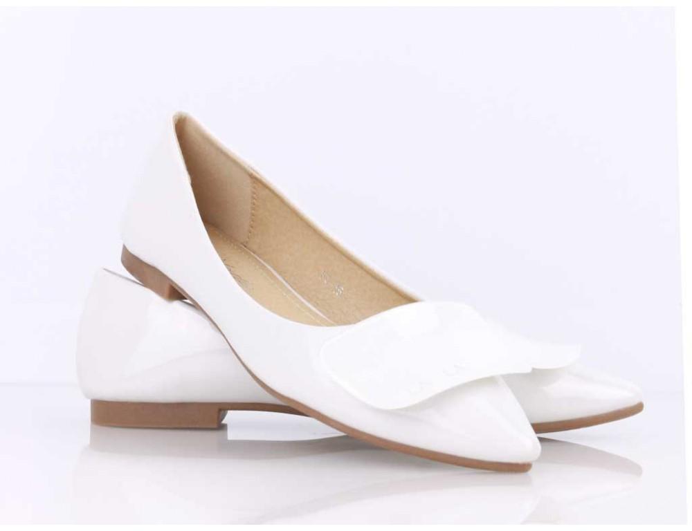 Lesklé biele balerínky · Lesklé biele balerínky ... bc6f78d9b28