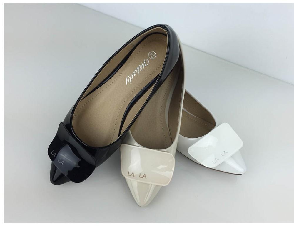 ... Lesklé biele balerínky · Lesklé biele balerínky c37f90e3364