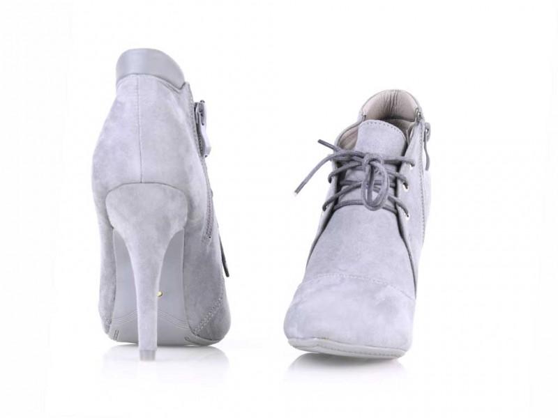 Členkové topánky šedé