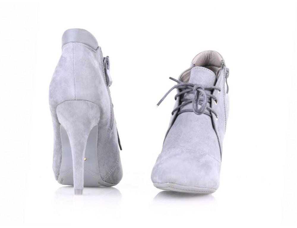 40fc6ac572 Členkové topánky šedé ...