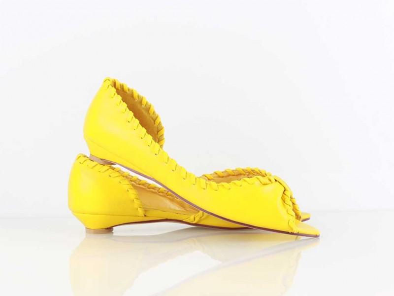 Žlté balerínky