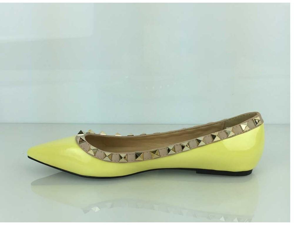 fdf4b54189184 ... Vybíjané balerínky žlté; Vybíjané balerínky žlté