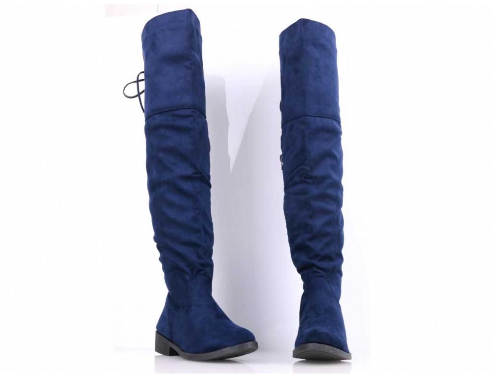 a652d3e3a365 Čižmy nad koleno modré · Čižmy nad koleno modré ...