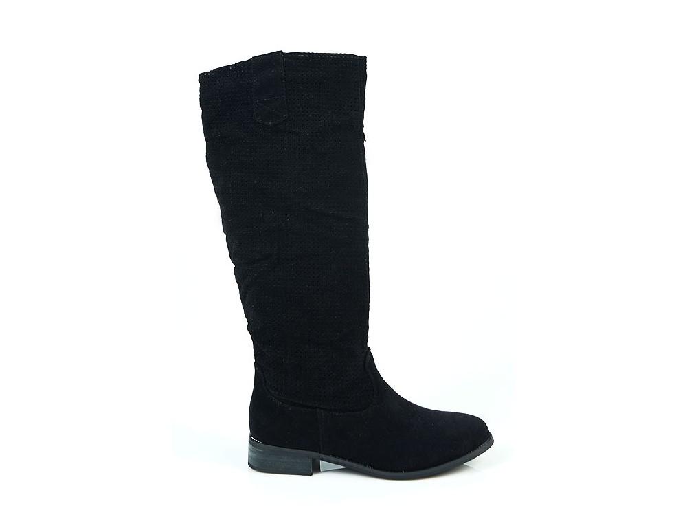 ed4ae6c92e38 Čierne prechodné čižmy · Čierne prechodné čižmy