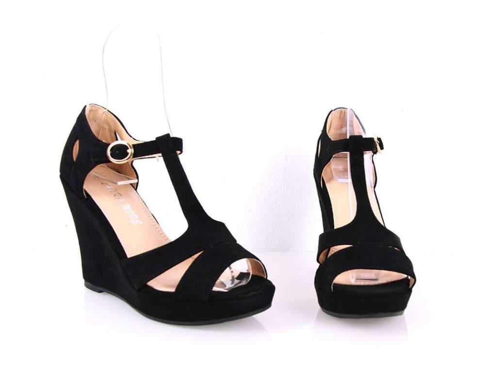 effd3700c12eb Čierne letné sandálky, lacné | TOTOchcem.sk