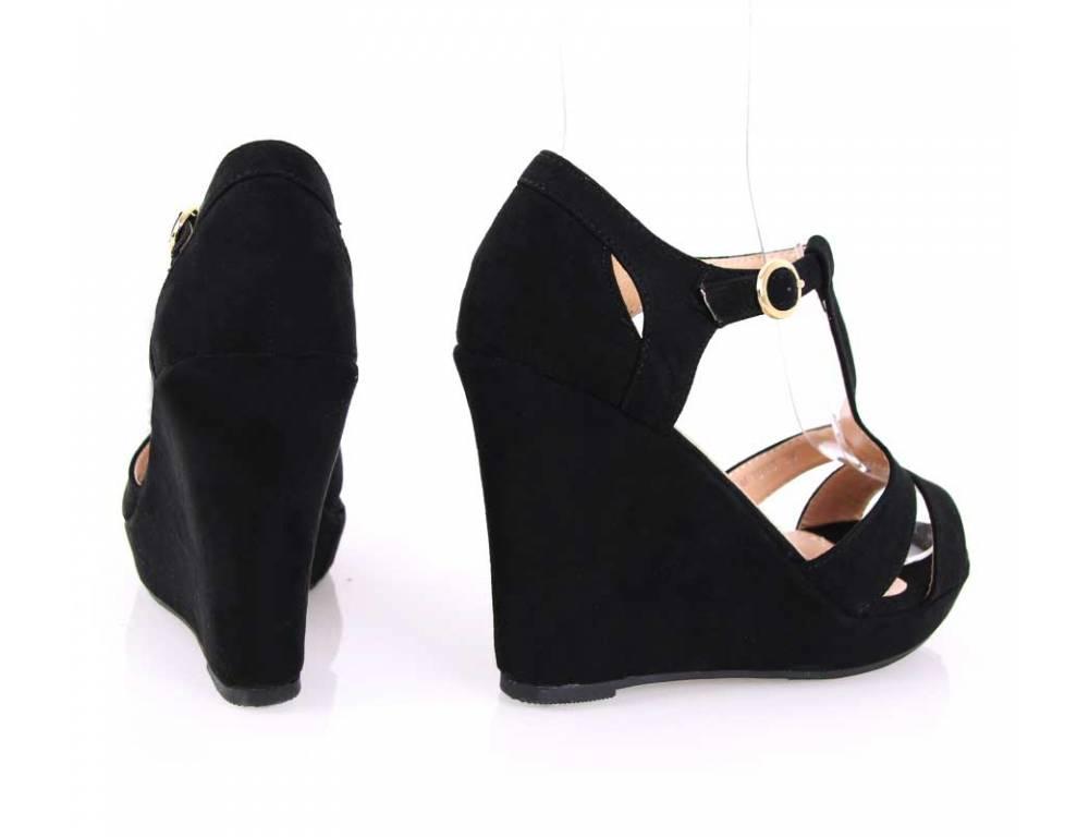 d815e64ec671 Čierne letné sandálky · Čierne letné sandálky ...