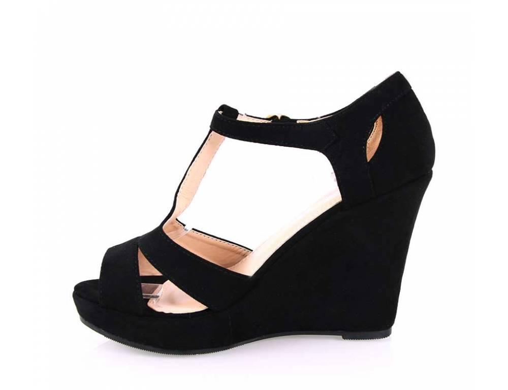 87b5e4741c9c ... Čierne letné sandálky ...