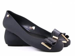 Gumené balerínky čierne