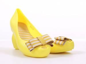 Gumené balerínky žlté