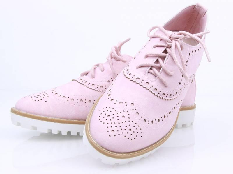 Semišové ružové Jazzovky