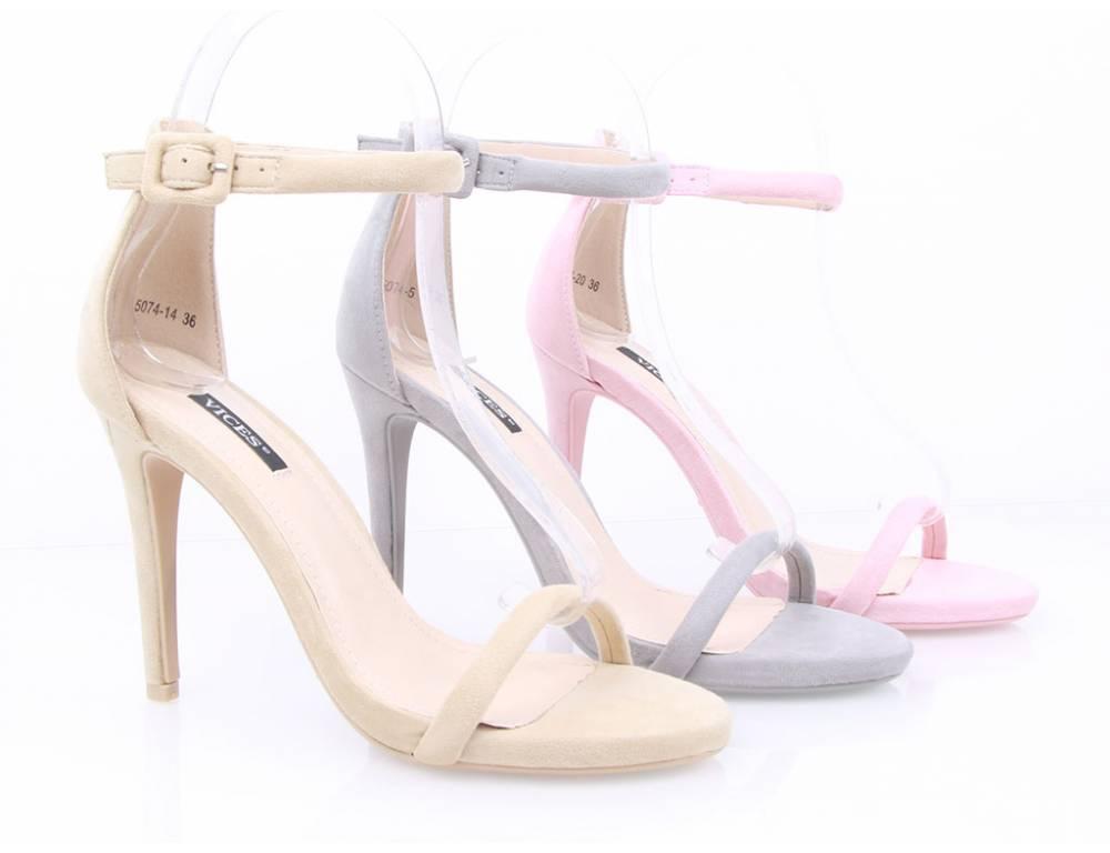 a50c3f143dc0 Semišové sandálky ružové · Semišové sandálky ružové ...