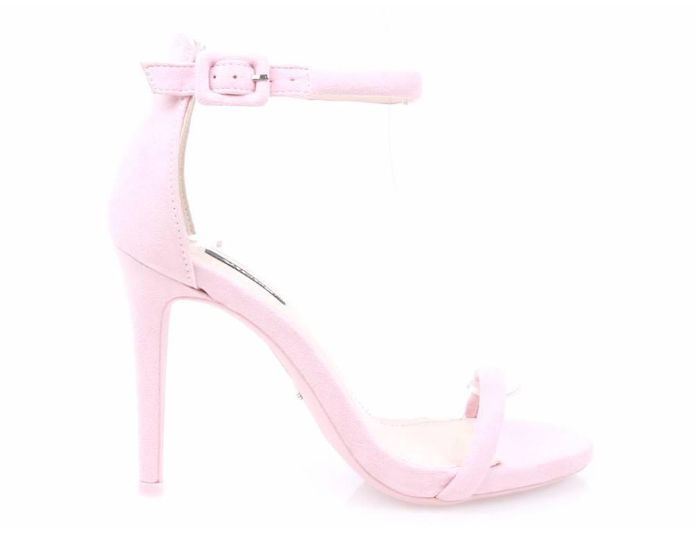 fbd3e31485cd ... Semišové sandálky ružové ...