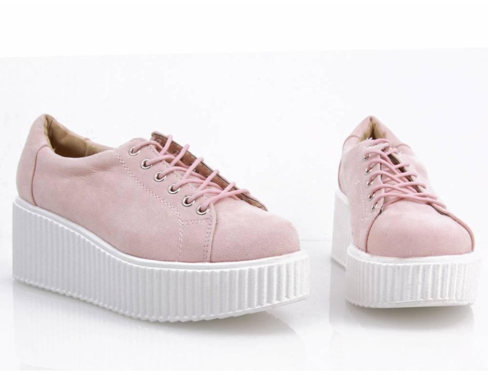 4268c9f74c Ružové tenisky na platforme ...