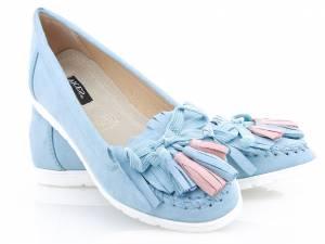Modré mokasínky